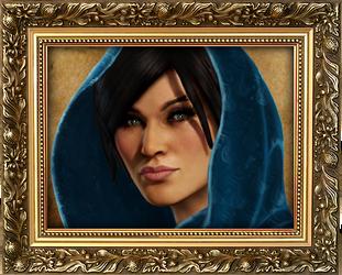 Chloe, Veiled In Blue by Shrantellatessa