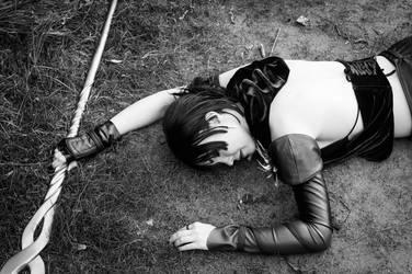 Morrigan's dead by Arichka