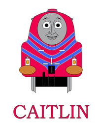 Caitlin the  Steamlined Engine Promo by MikeD57s
