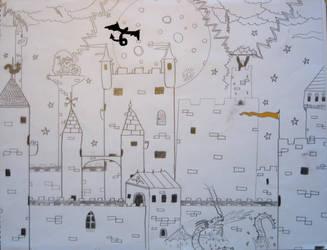 Adventure Castle by Stegron