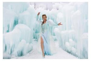Frozen's Elsa Cosplay by CosplayCandy