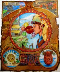 A World of Adventure by Zeett