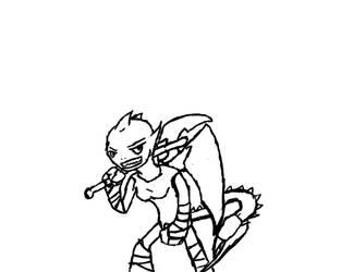 Talurth the barbarian by Shiningspecks