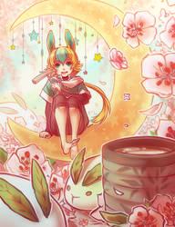 Moon Tea by whispwill