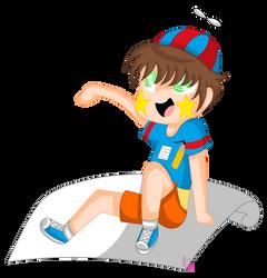 Drawing boy (gift) by AyaAli20002