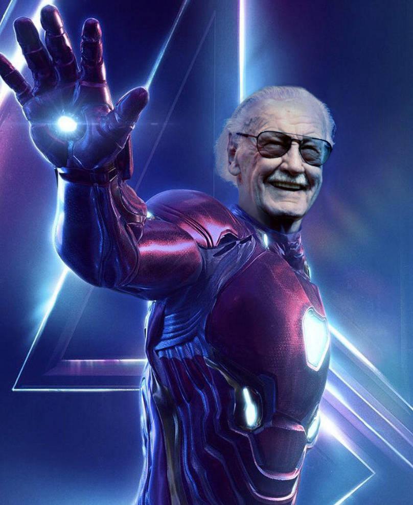 Stan Lee by JustJaxx