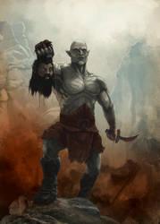 Azog the Defiler by K-Art-K-Vin