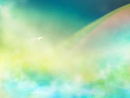 Look a rainbow! by mao-l