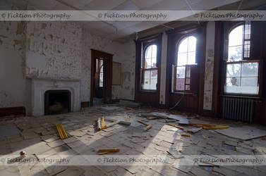 Crackled Floor by FicktionPhotography