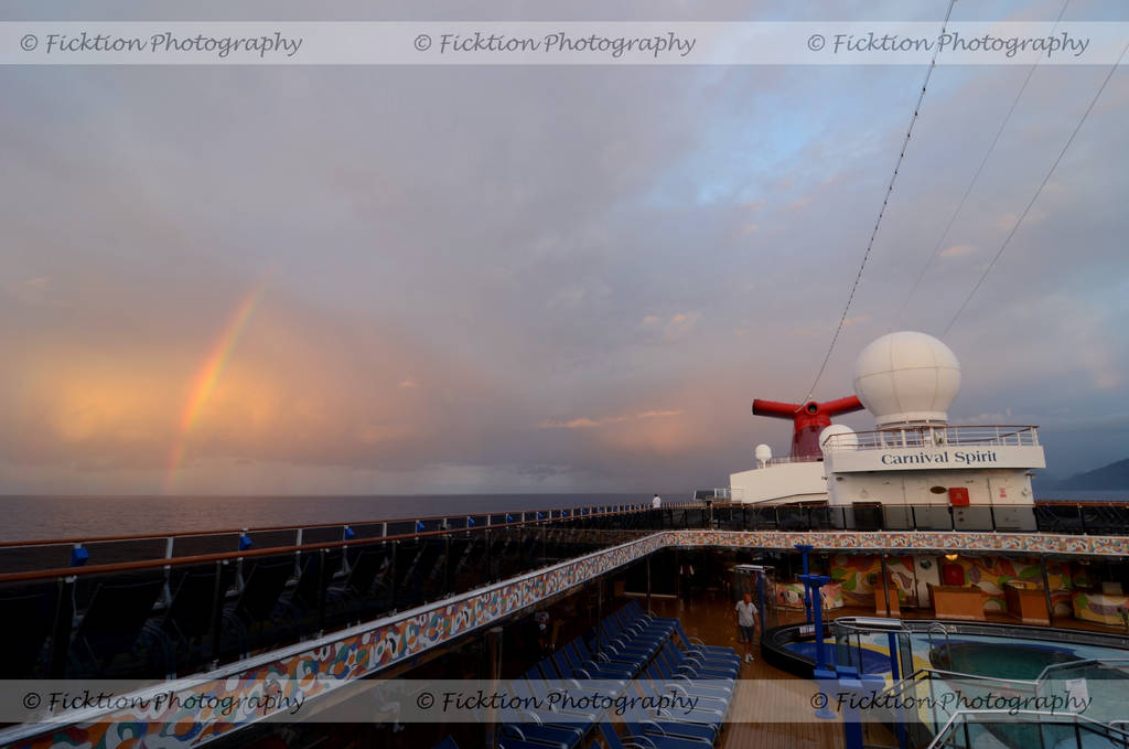 Carnival Spirit Rainbows by FicktionPhotography
