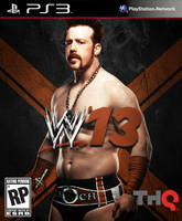 WWE 13 Cover. Sheamus by RaTeD-Gfx