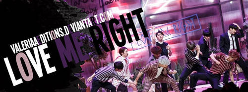Portada - EXO Love me right. by valeriaaeditions