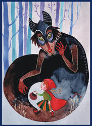 Little Red Riding Hood by haniutek