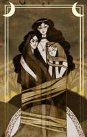 Sisters of the Rising Sun by haniutek