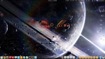 Fedora Desktop by ZYrlleX