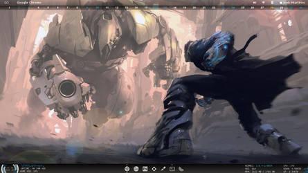 Fedora Linux Desktop by ZYrlleX