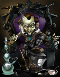 The Mad Hatter Returns by cimurr