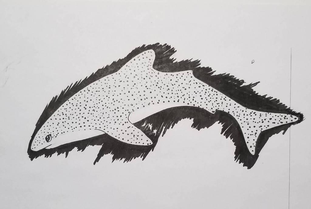 #16/ whale shark by Giiakiiken