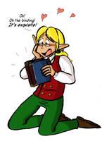 Tyn loves books by Naoru