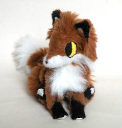 Jointed Fox Plushie 1 by Naoru