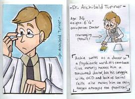 Archie Trading Card 01 by Naoru