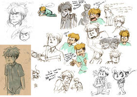 RP doodle collection 2 by Naoru