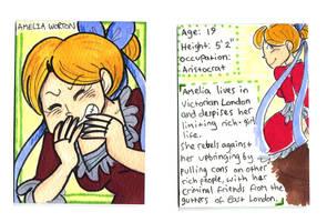 Amelia Character Card by Naoru