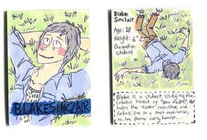 Blake Sinclair Character Card by Naoru