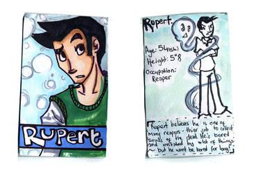 Rupert Character card by Naoru