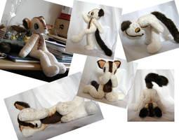 Super posable Donney plushie! by Naoru