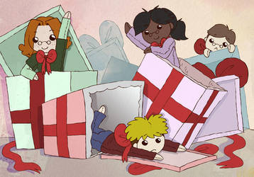 Headcase Happy Christmas! by Naoru