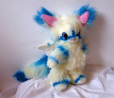 Commission: Fluffy Jointed Frosty Fluff 1 by Naoru