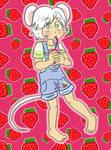 Ollie strawberry juice by Naoru
