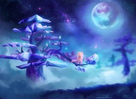 Crystal Trees by antoniarts