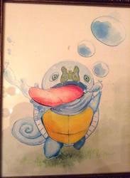 Squirtle :O by NachoBoyIQ
