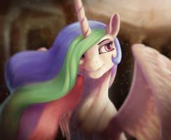 Sunny horse by StarBlaze25