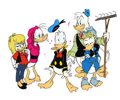 Everyone loves Donald Duck by grasstains