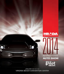 HRADA Auto Show Cover by LouieRoybal