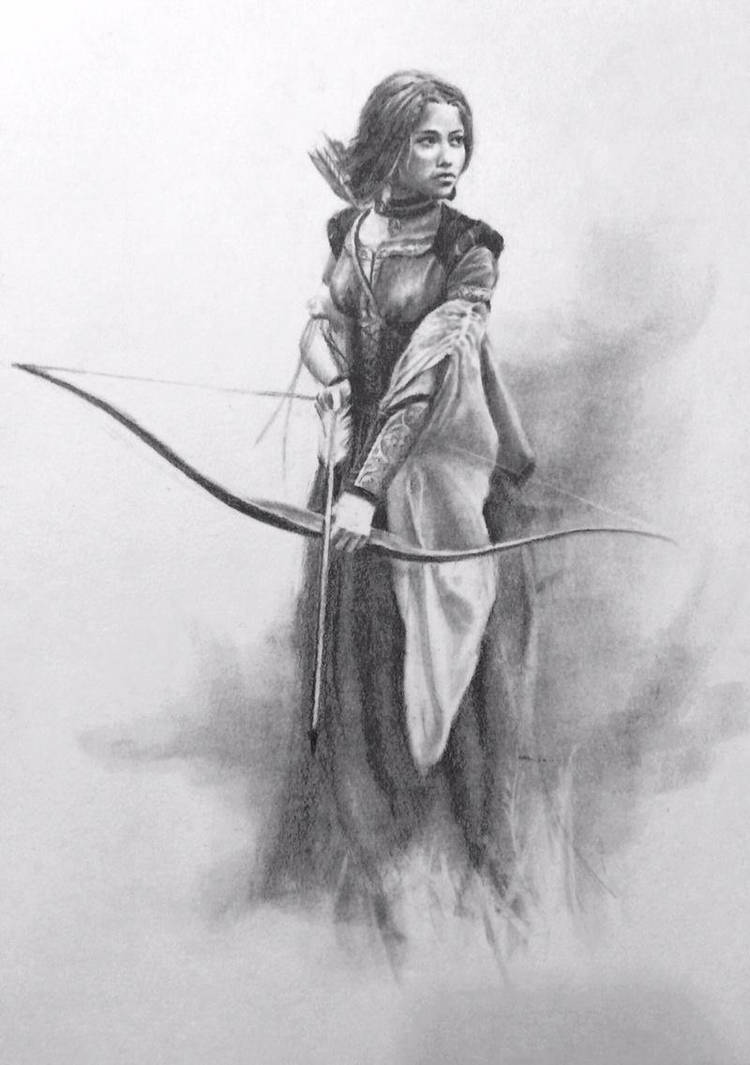 Archeress by LouieRoybal