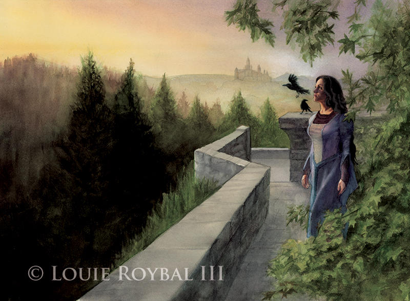 Captive of Raven Castle by LouieRoybal