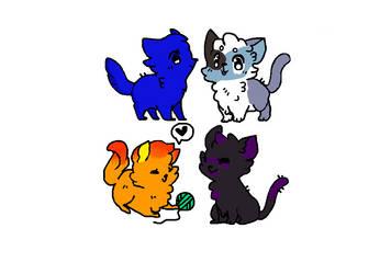 Cat OCs by Bluestarcraft
