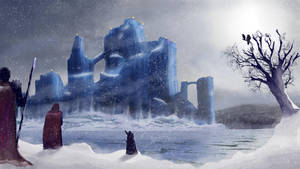 Ice Castle of Orosus by Loreathan