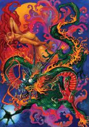 Dragon by oazen2008