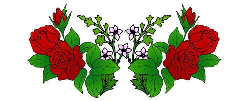 Flowers by mitopir