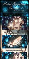 Anime Signature Tutorial by TheGalliumDesigns