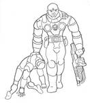 Gears VS Halo by ConcreteChief
