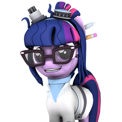 Scientific Twilight Sparkle by DazzioN