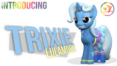 Introducing EQG Trixie Lulamoon by DazzioN