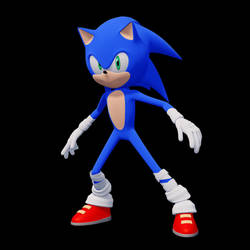 Sonic 3D by GlassGuise