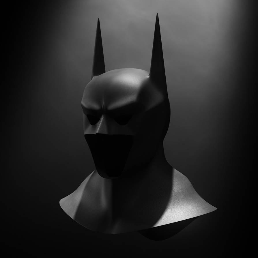 Batman Cowl by GlassGuise